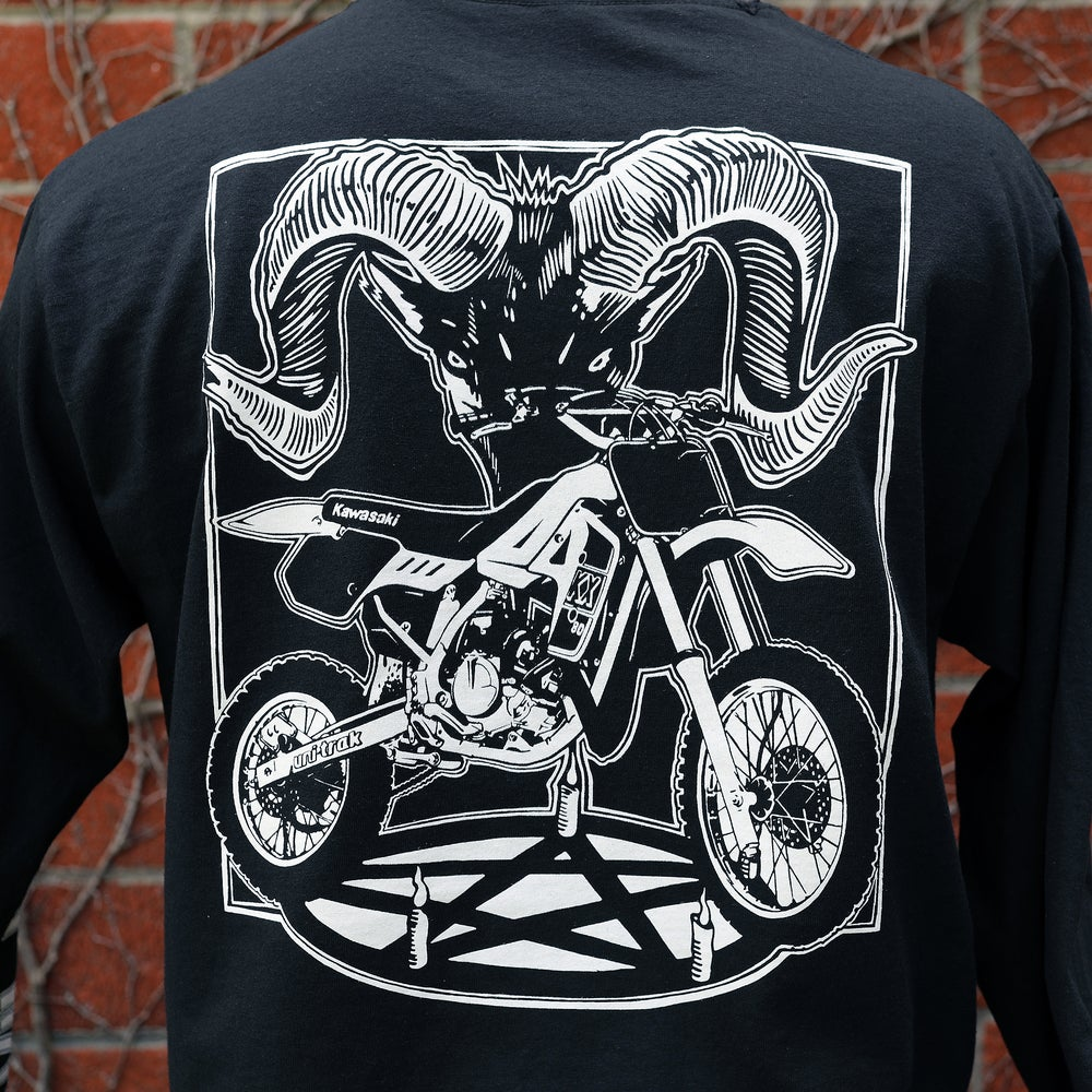 Satans Rides a KX80 - Long Sleeve
