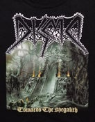 Image of DISMA - TOWARDS THE MEGALITH T-SHIRT