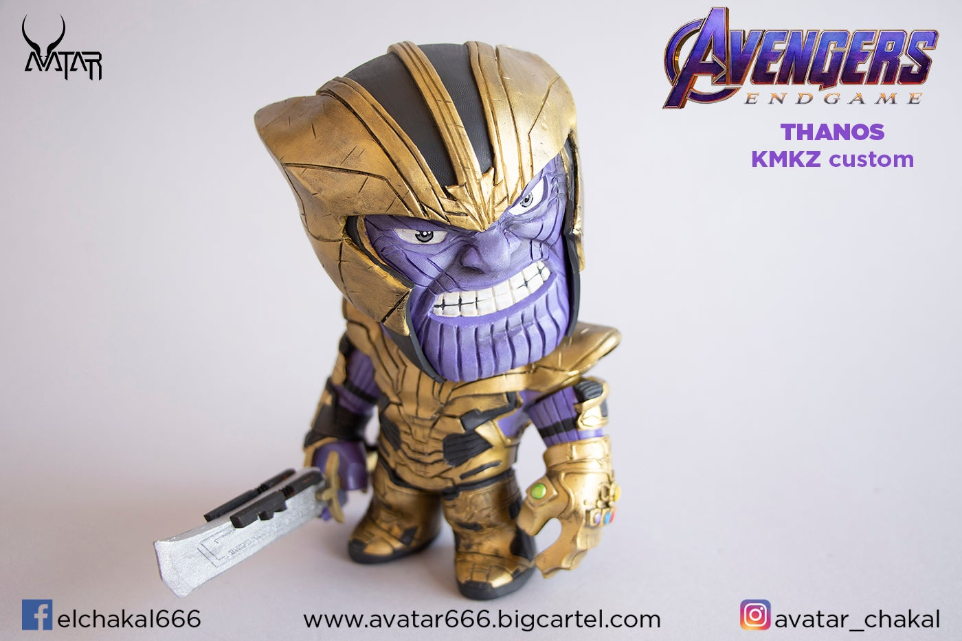 Image of THANOS KMKZ ironman for free!