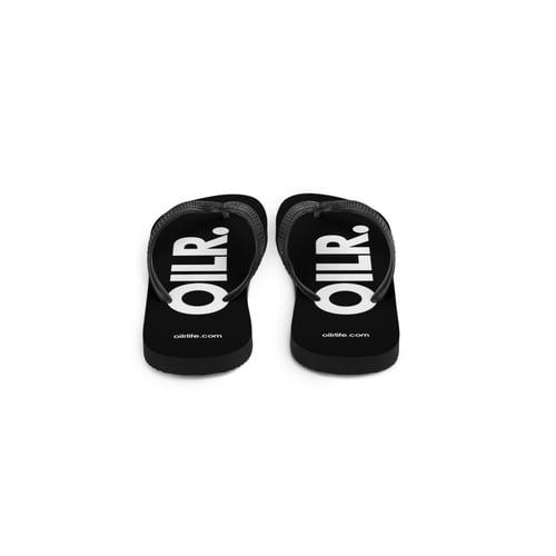 Image of OILR. Unisex Flip Flops