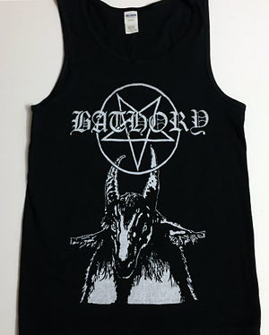 "Image of Bathory "" Pentagram "" TankTop T-shirt"