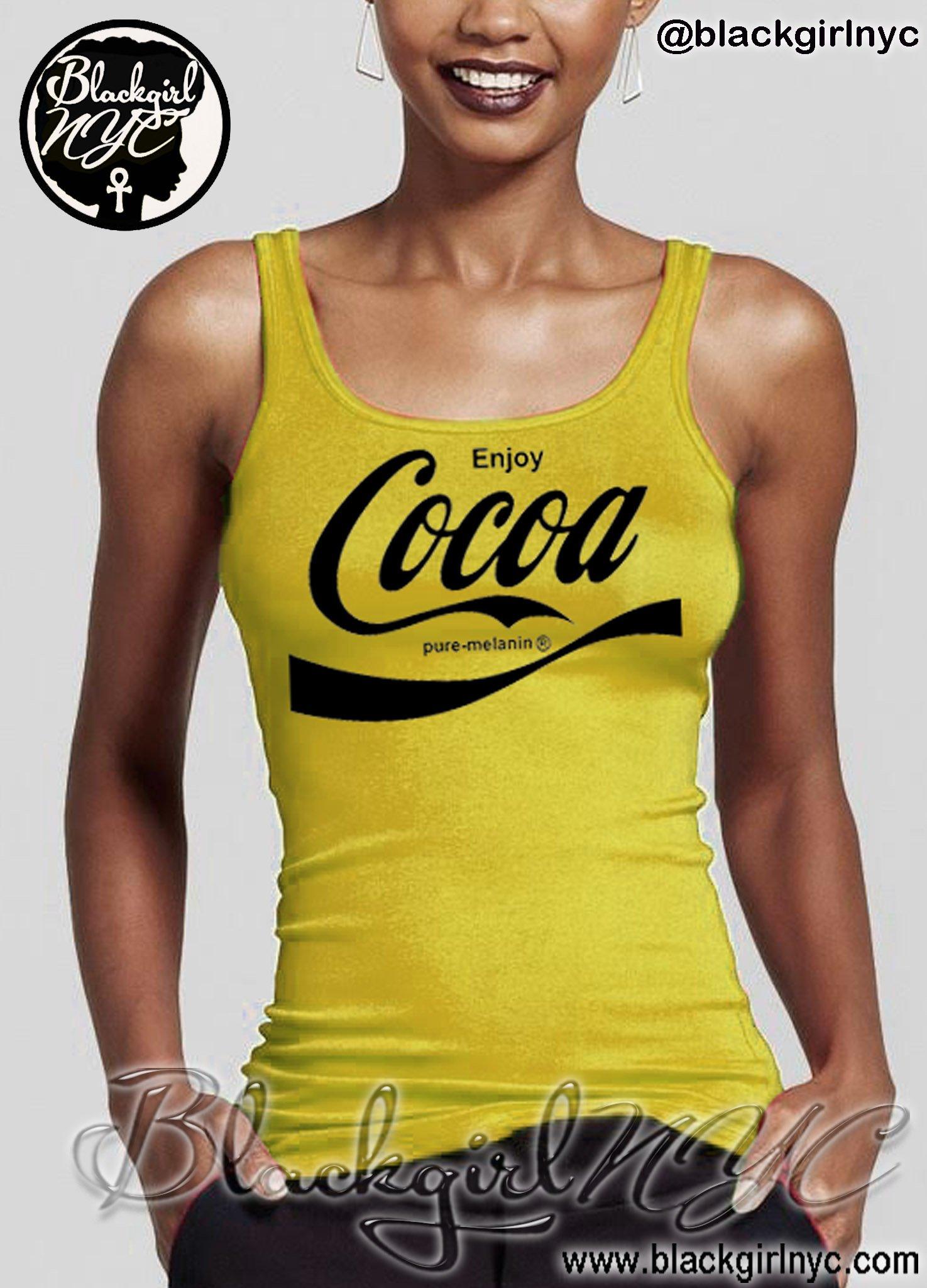Image of YELLOW - (enjoy) COCOA - pure melanin