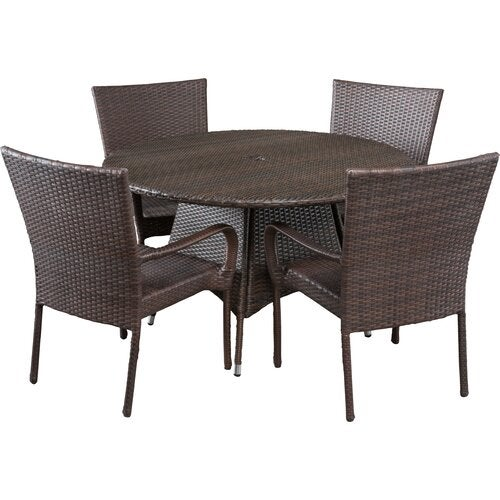 Bexton 5 Piece Dining Set One Furniture Outlet