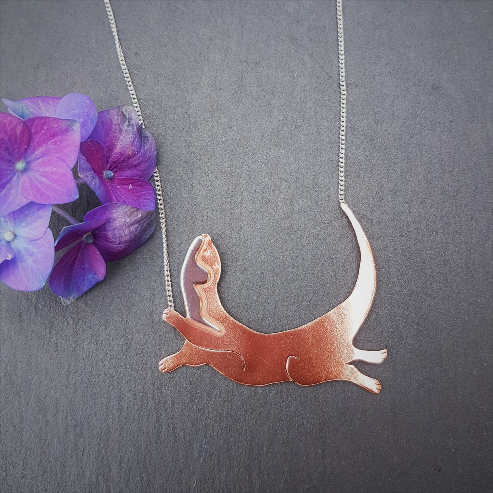 Image of Frolicking Otter Necklace