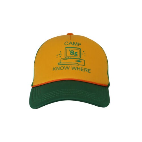 Image of 2019 Dustin Hat Retro Mesh Trucker Stranger Things Camp Know Where Things Cap