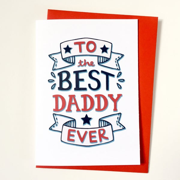 Image of Best Daddy Card