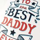 Image 2 of Best Daddy Card