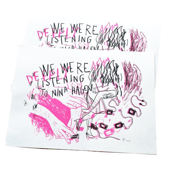 Image of We were listening to Nina Hagen