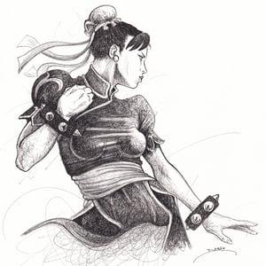 Image of Chun Li Doodle