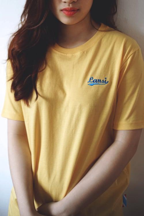 "Image of LANSI Stitched Tee — ""Swede"""