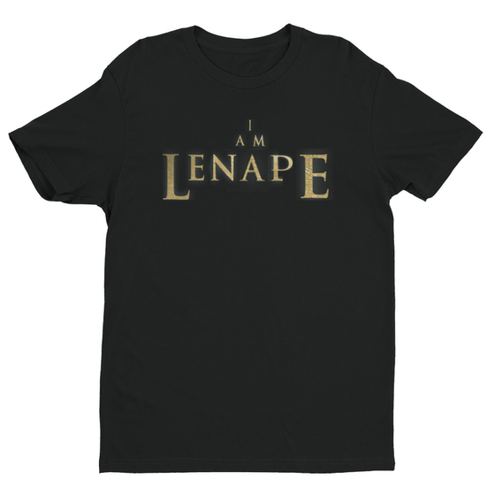"Image of ""I AM LENAPE"" LEGEND T'SHIRT BLK"