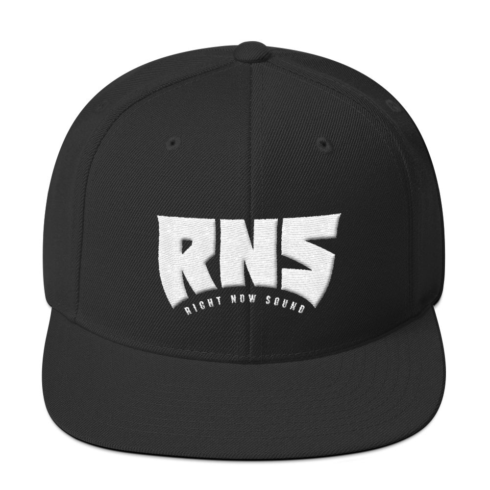 "Image of Right Now Sound ""RNS"" Snapback in Black"