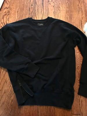 Image of Basic Crewneck - Black