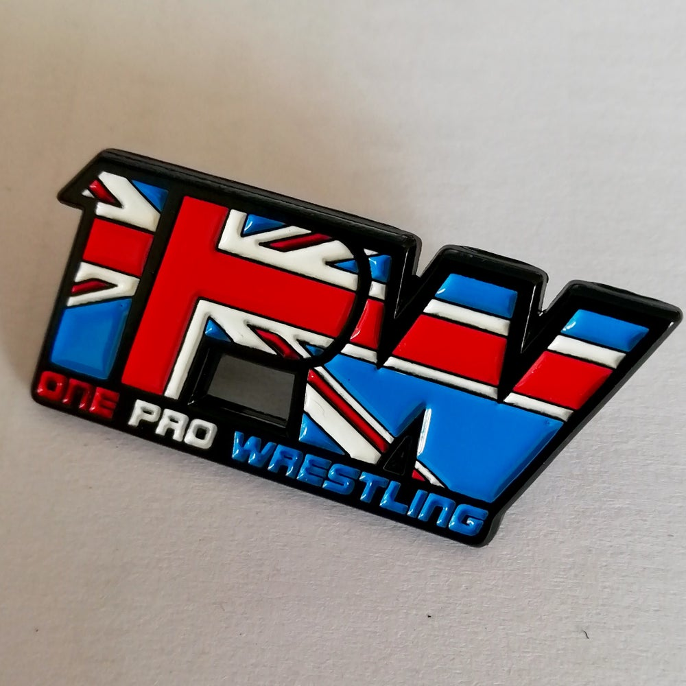 Image of Official 1PW enamel pin
