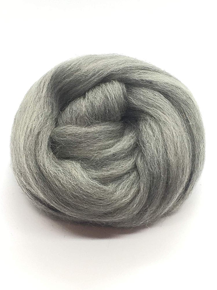 Image of 1 Lbs (450g) Combed Wool Roving