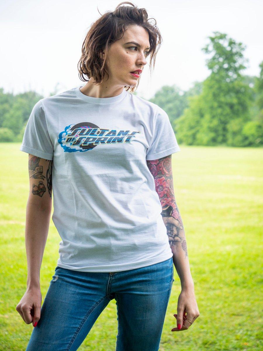Image of Sultans of Sprint #speedismyreligion tee shirt