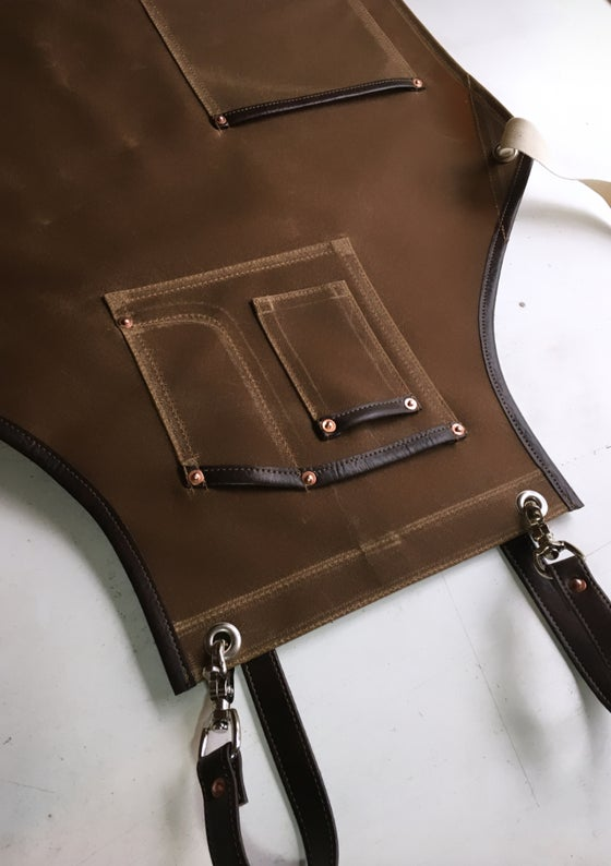 Image of Cross-back Work Apron