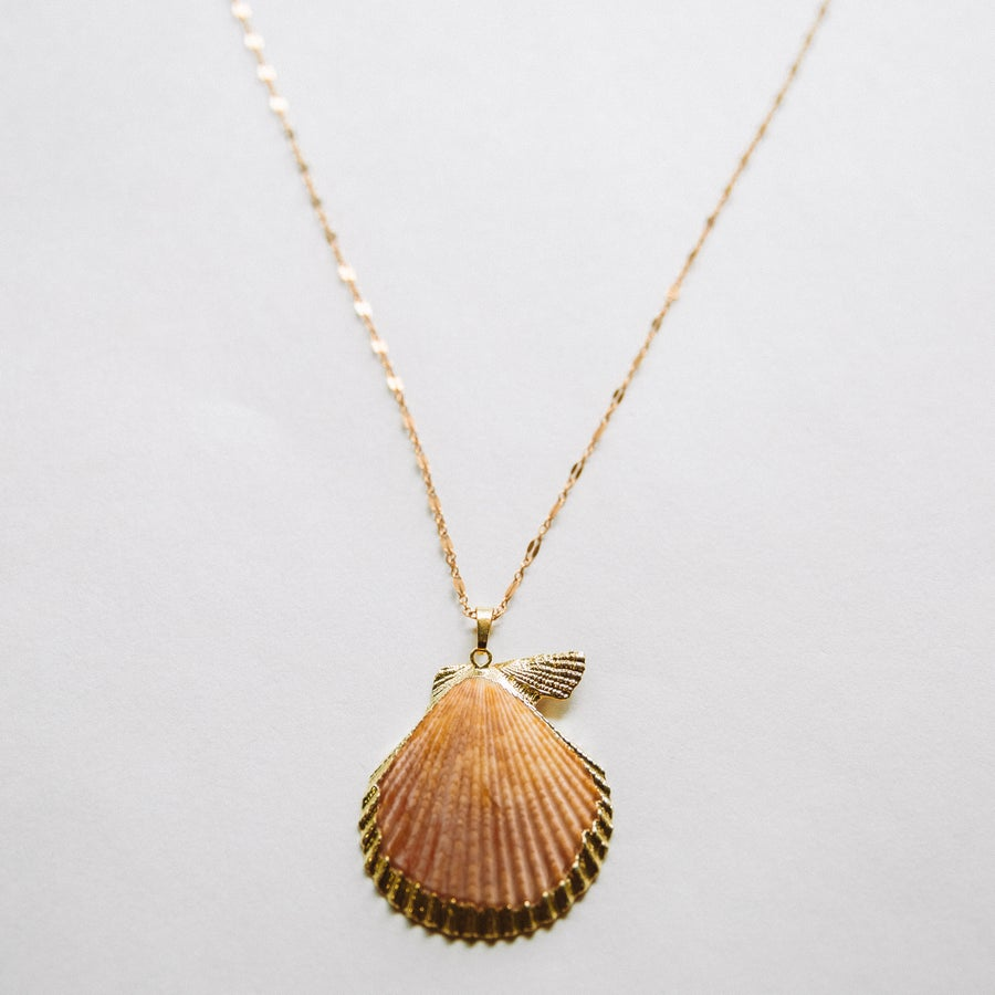 Image of The Orange Shell Necklace