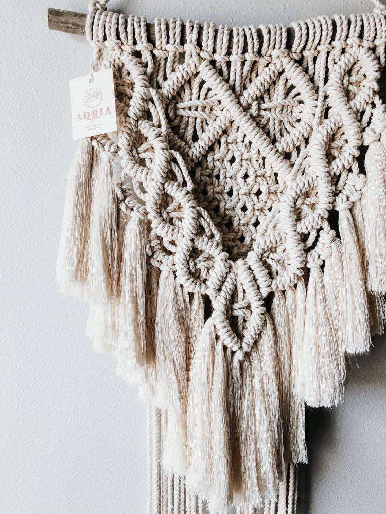 Image of Boho Beauty Macramé Wall Hanging