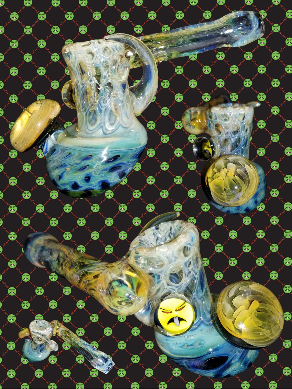 Image of mac white x mad mark dry pipe