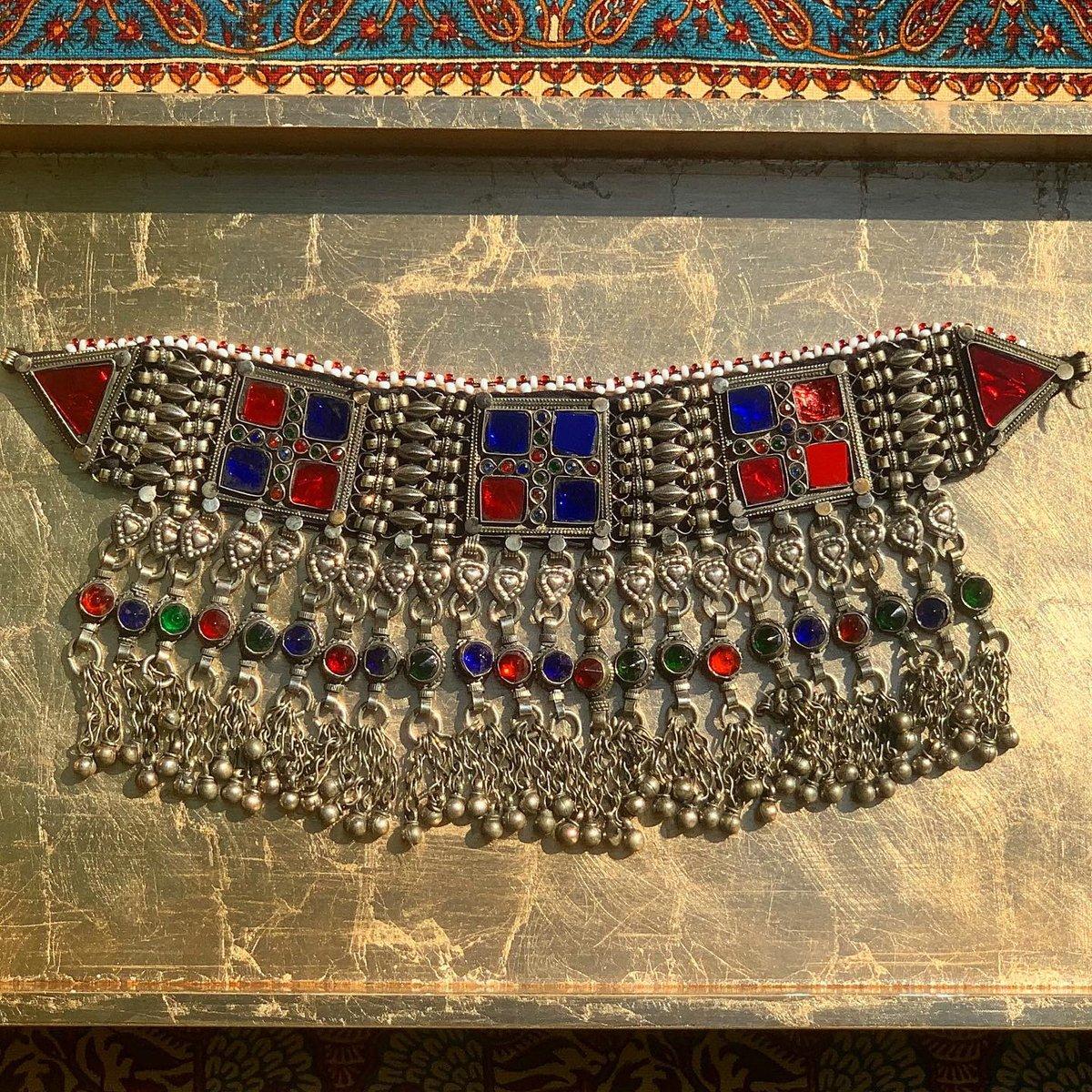 Image of Authentic Afghan Kuchi Choker