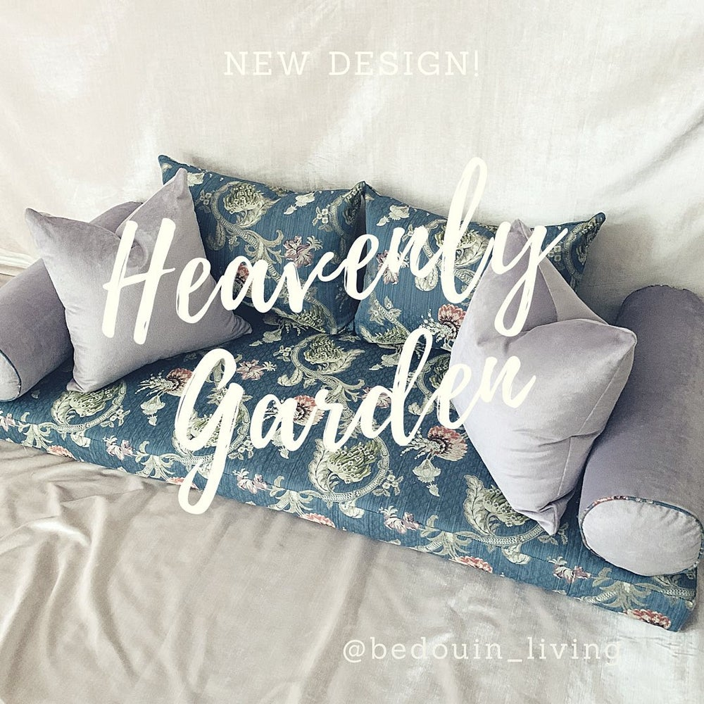 Image of Heavenly Garden Floor Sofa