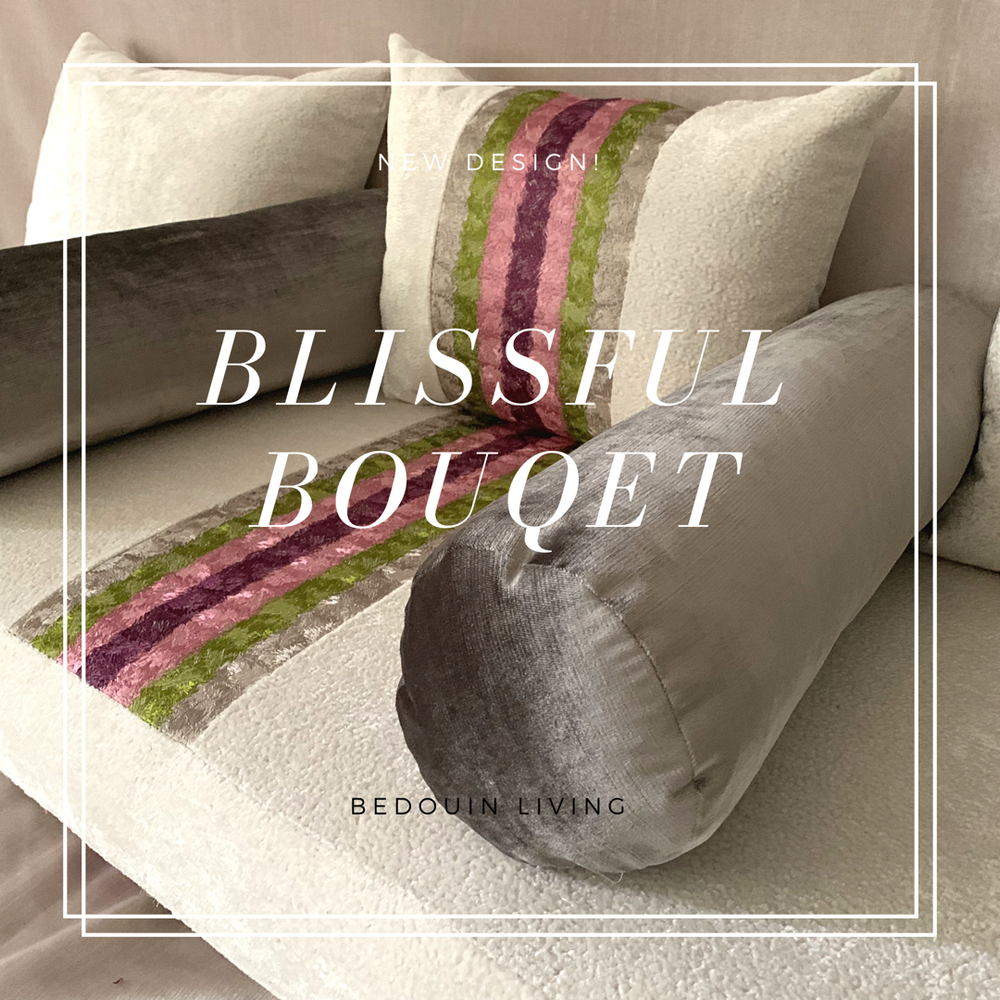 Image of Blissful Bouquet Floor Sofa