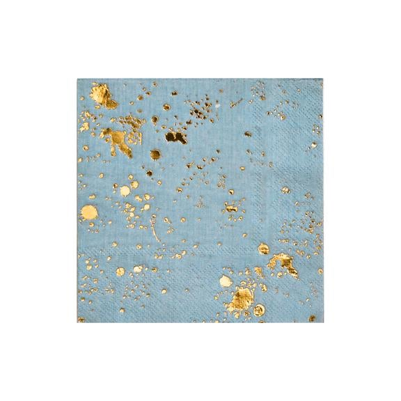 Image of Malibu - Blue Splash Cocktail Napkins