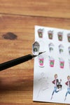 Coffee Girl Planner Stickers