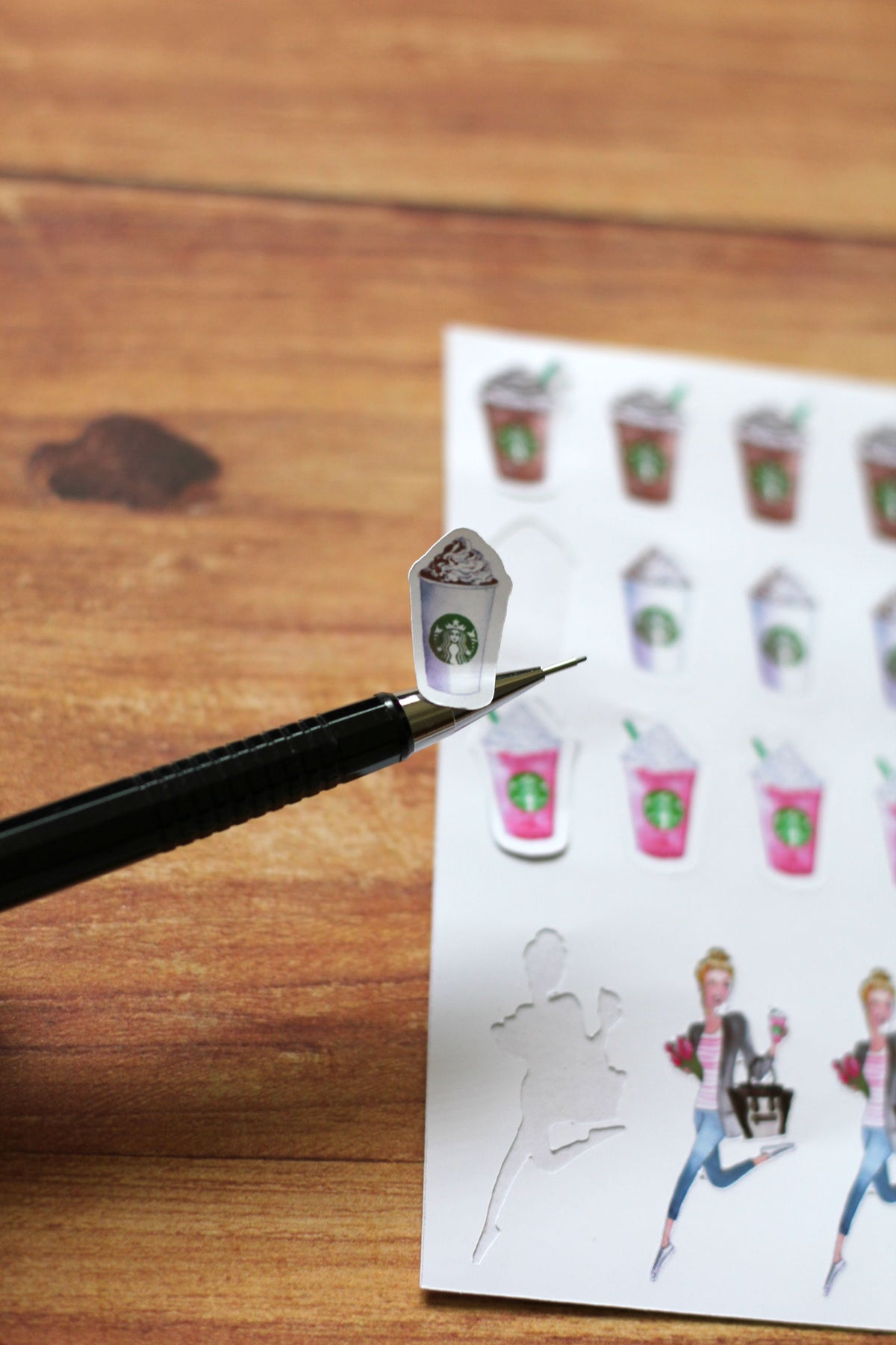 Image of Coffee Girl Planner Stickers