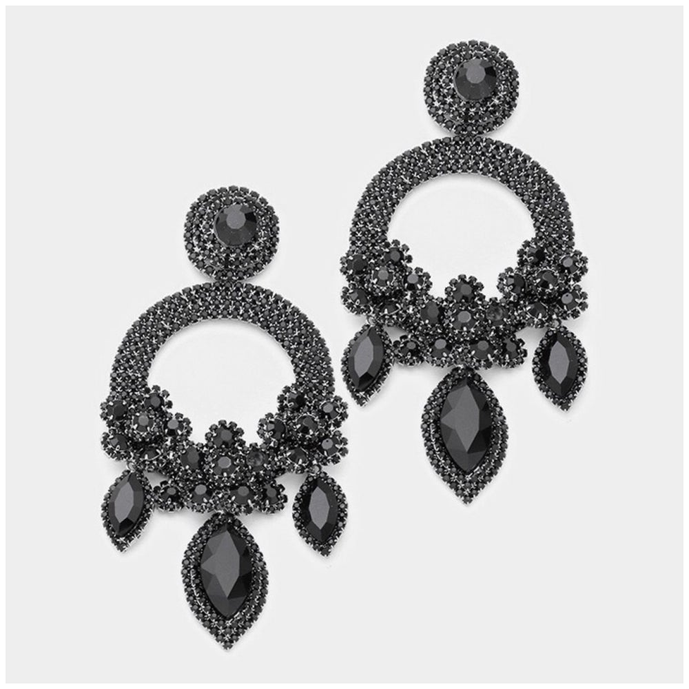 Image of Jumbo Chandelier Earrings