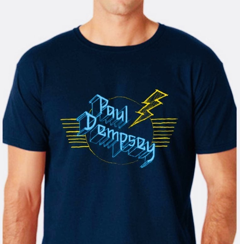 Image of Paul Dempsey Metal Sketch tee