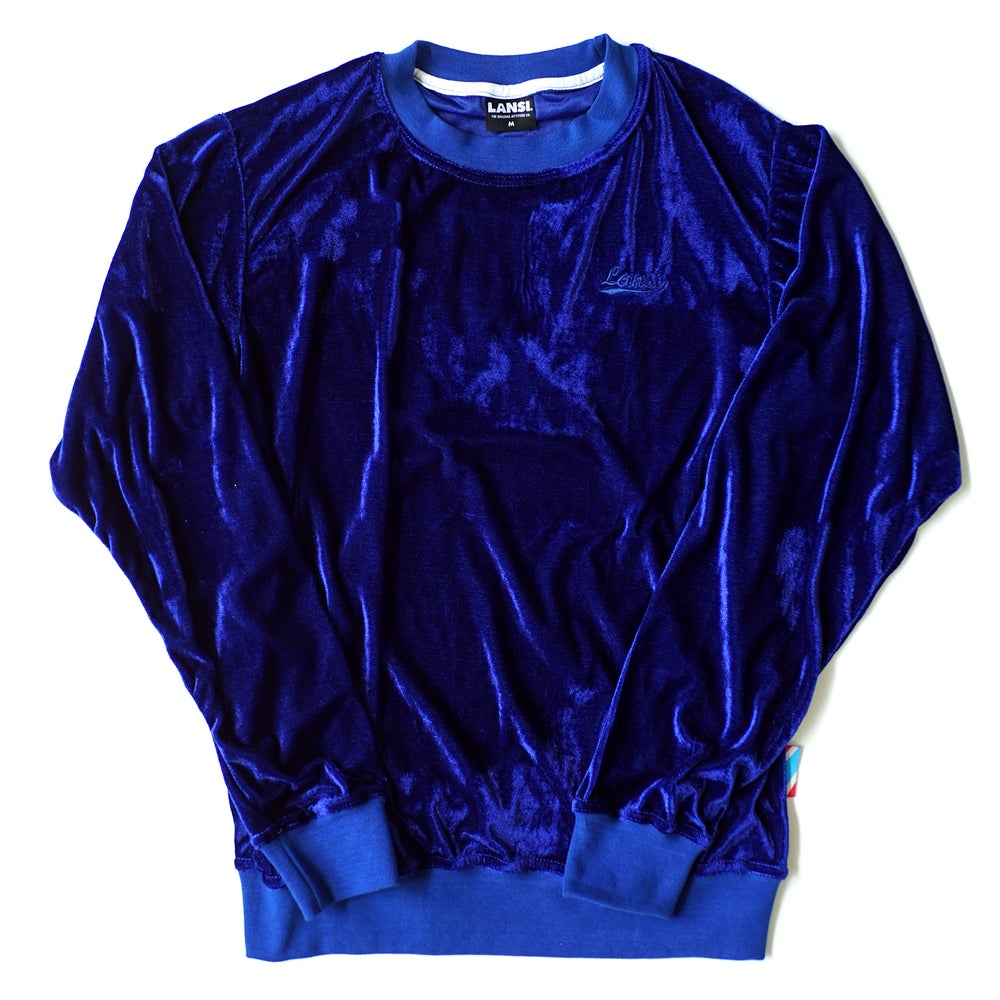 "Image of LANSI ""Moss"" Jumper (Royal Blue)"