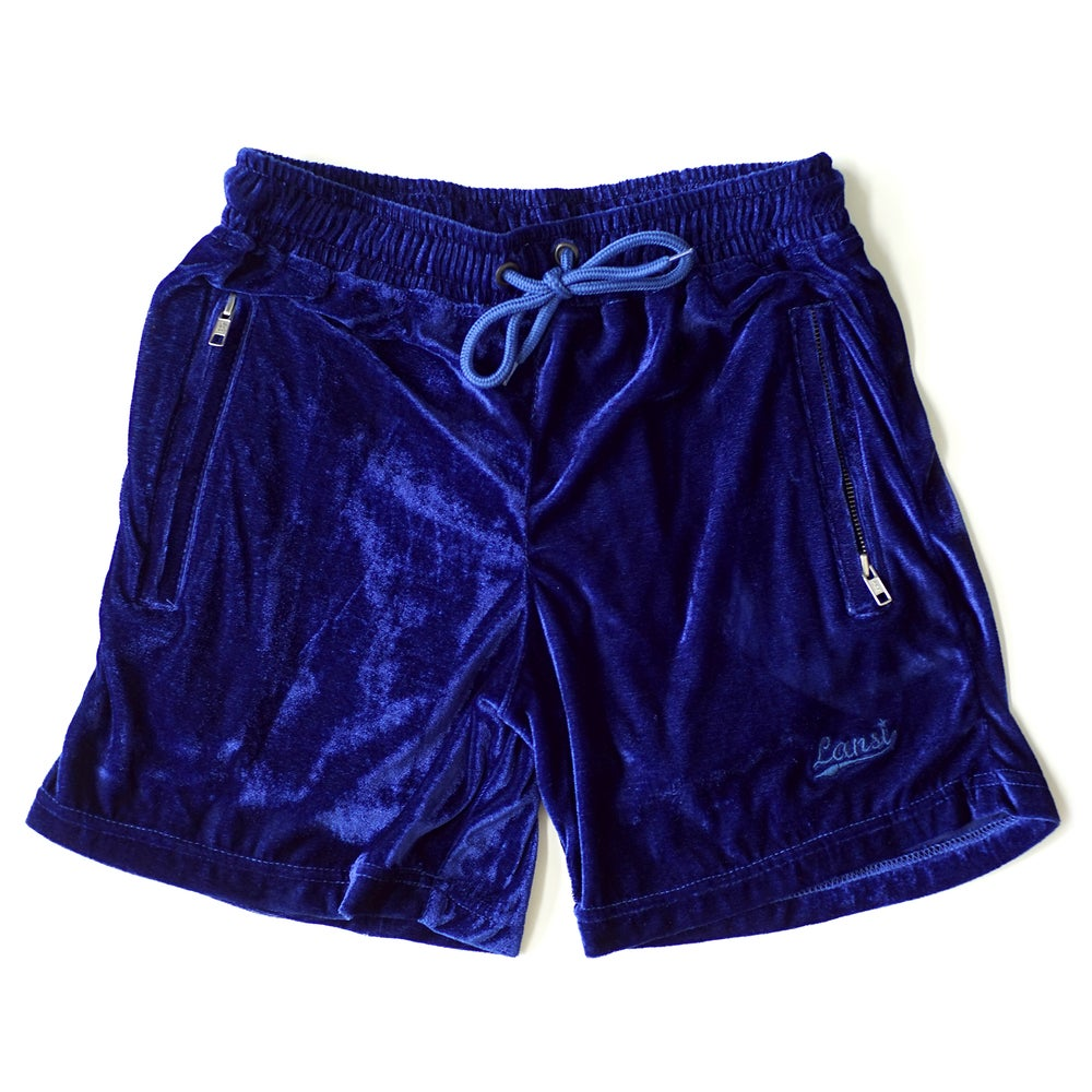 "Image of LANSI ""Moss"" Lazy Shorts (Royal Blue)"
