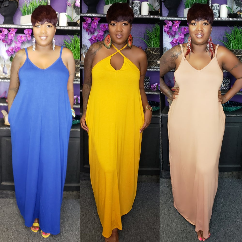 Image of Pastry Maxi Dresses