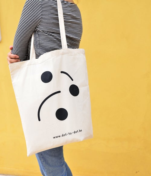 Image of Dot-To-Dot Tote bag