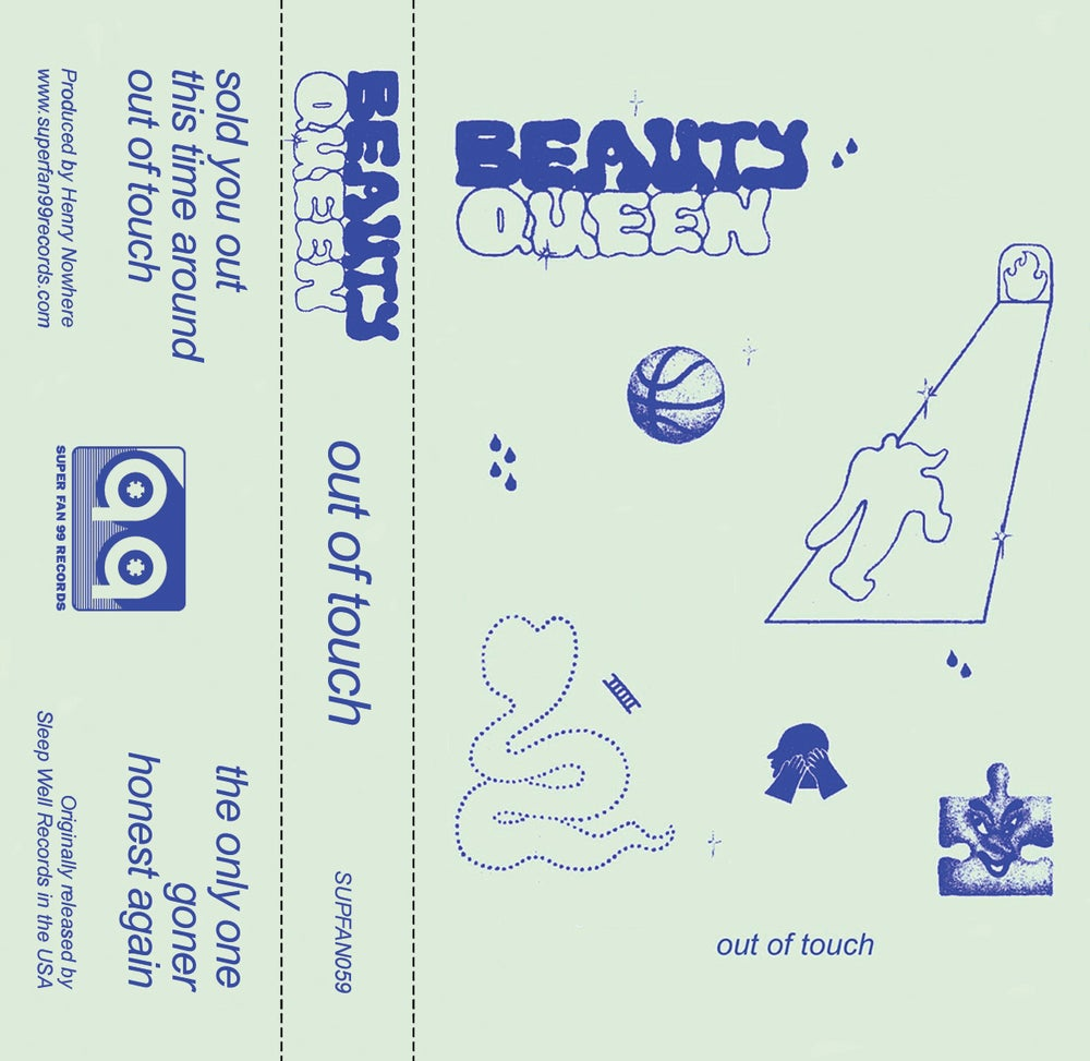Image of Beauty Queen 'Out of Touch' Ltd Cassette EP