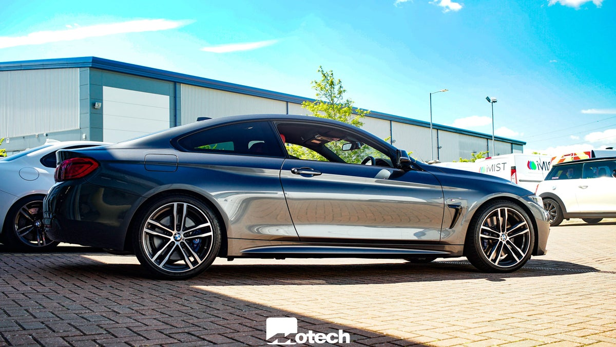 Image of BMW 430d 435d Eibach Lowering Springs (F32 F33)