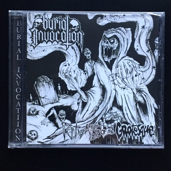 "Image of BURIAL INVOCATION ""Rituals of the Grotesque"""