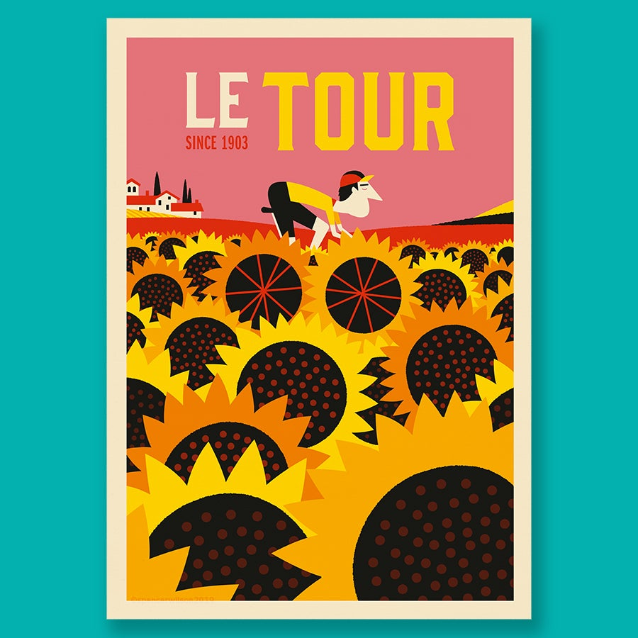 Image of Le Tour - Sunflowers'