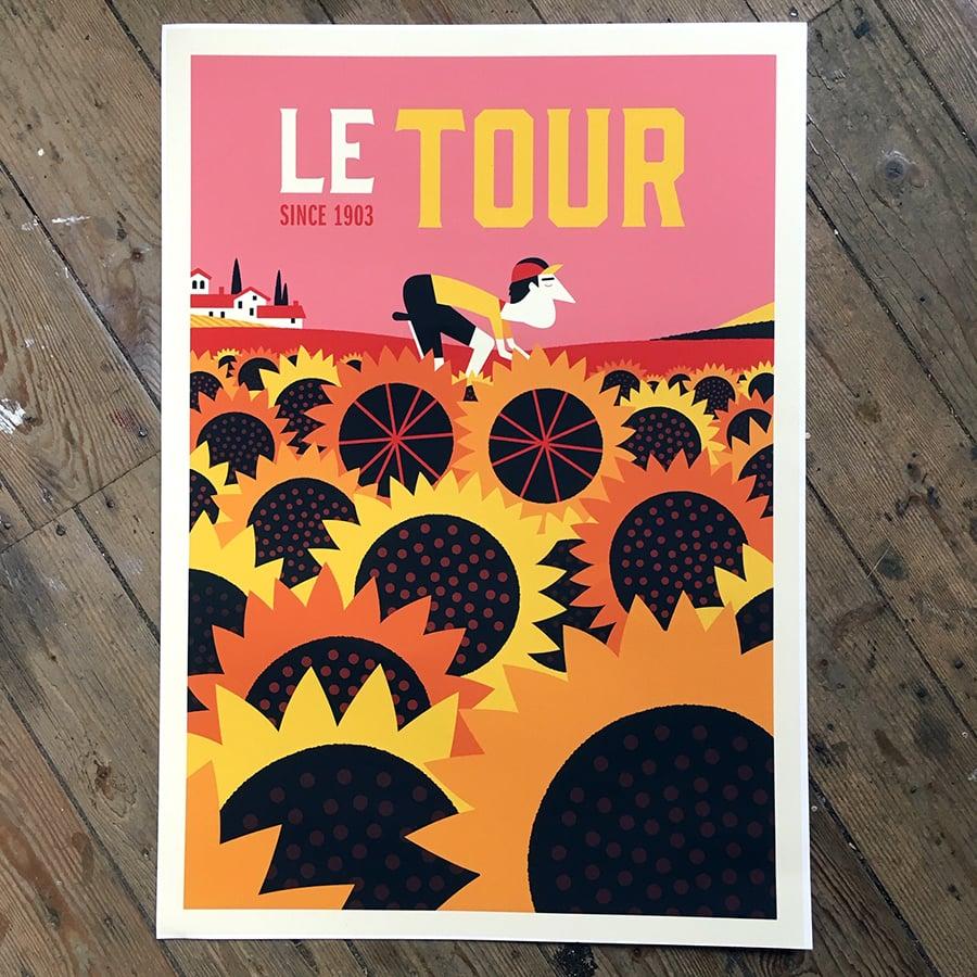 Image of Le Tour - Sunflowers'
