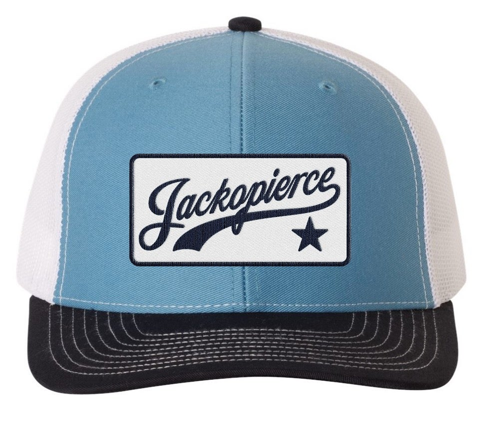 Image of JP Trucker - Navy, Light Blue, & White