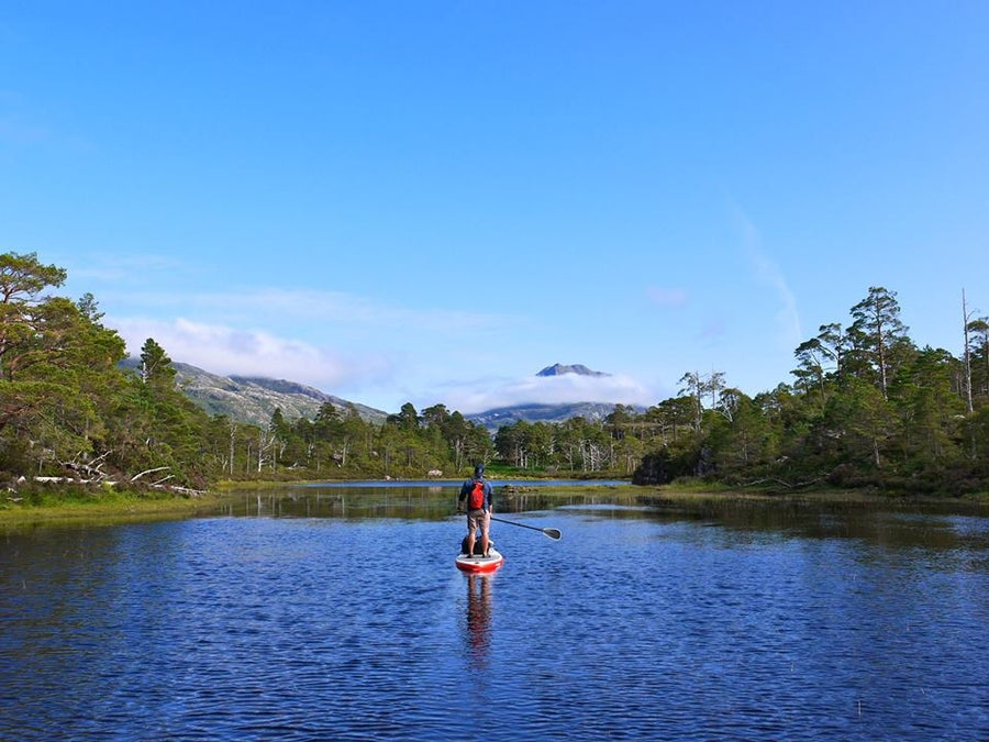 Image of Loch Maree Paddle Adventure - The Last Great Wilderness