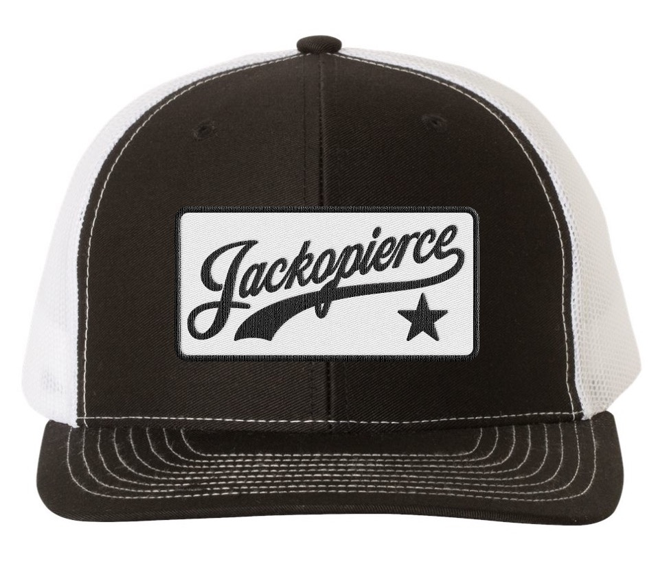 Image of JP Trucker Hat - Black/White