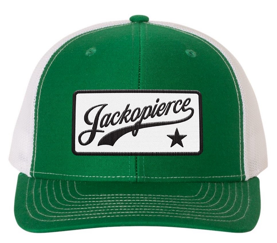 Image of JP Trucker Hat - Green/White