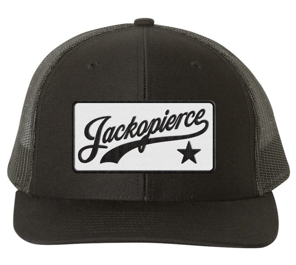 Image of JP Trucker - Black/Black
