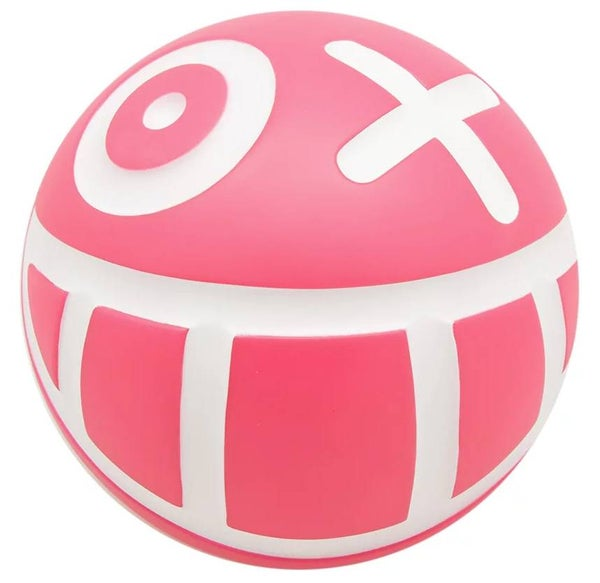 Image of Limited Edition Signed Mini Mr. A Ball - PINK - LAST ONE