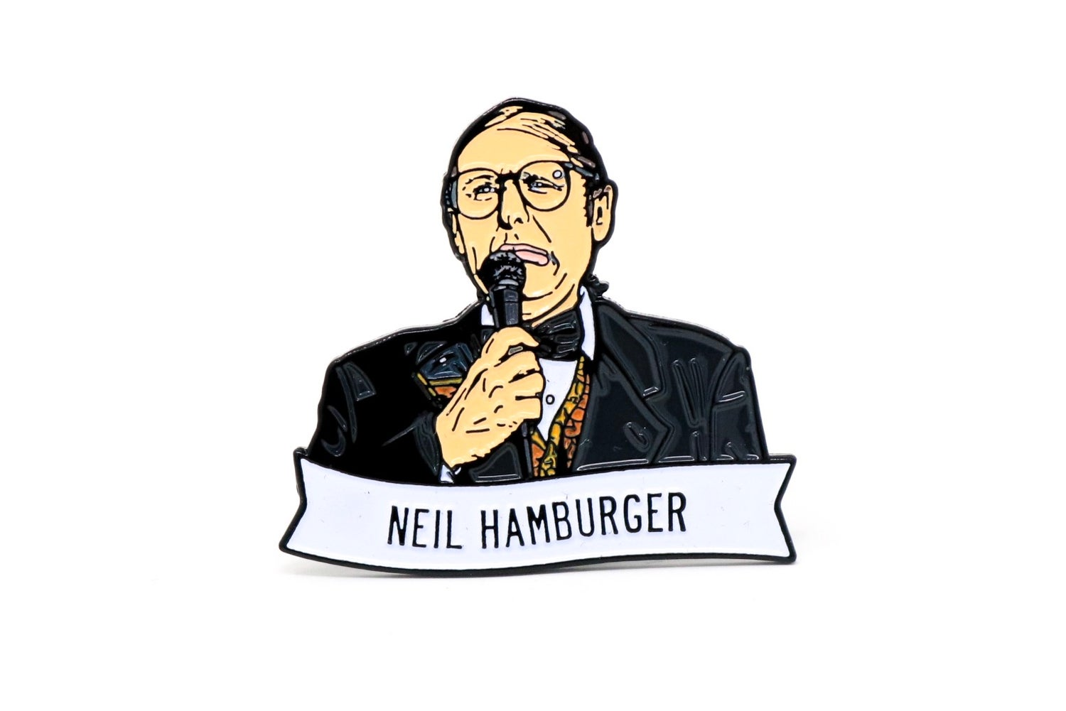Image of Neil Hamburger Enamel Pin