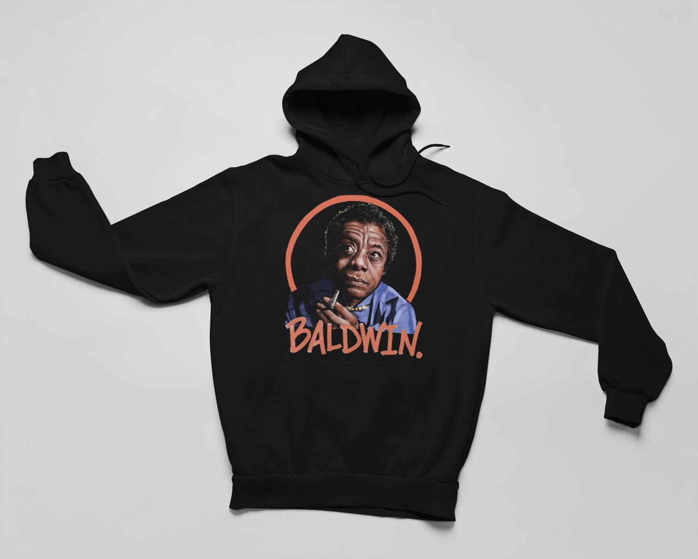 "Image of ""James Baldwin"" T-Shirt & Hoodies- RESTOCKED"