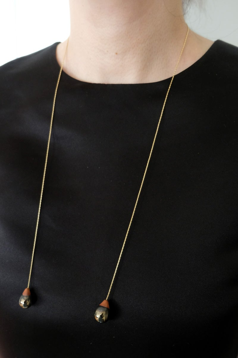 Image of droplet necklace